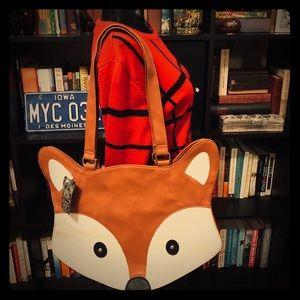 NWT Large Fox Tote